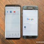 Samsung S8 sau Samsung S7